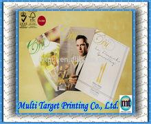 Top Sale A4 size color Matt Lamination Booklet Printing