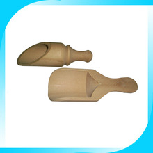 High quality new design wooden making up spoon for salt