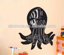 decorative children blackboard chalk writing,wall blackboard sticker,chalkboard wall sticker