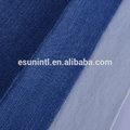 2014 fábrica oem algodão/spandex tecido denim slub