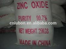 Origen chino óxido de zinc precio