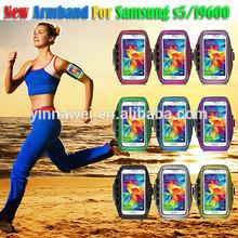 Fashion Adjustable Sport Polka Dot Armband Case for samsung galaxy S5 i9600