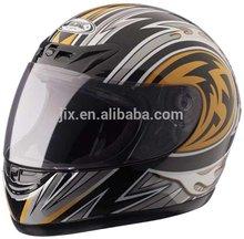 2014 stylish DOT ABS material full face lightweight high scooter helmets JX-A101