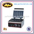 Comercial eléctrico de la galleta máquina de Hot Dog ( cinco piezas )