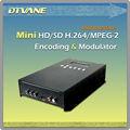( dmb- 9592) mini mpeg- 2/h. 264 1081p codificador hd& modulador de tdt hdmi modulador