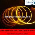 Côté émettant Fiber optique plastique luminaire