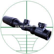2-6X32 red&green mil-dot reticle riflescope for gun