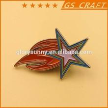 Custom meta hard enamel lapel pin