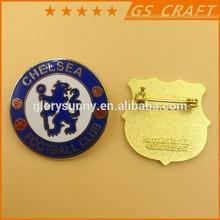 customized hard enamel lapel pin