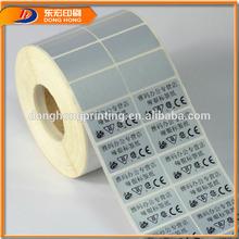 Roll Sticker Tape,Waterproof Label Printing Roll Sticker