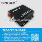 1-channel Fiber Optical Digital coaxial to video fiber converter for CCTV Camera