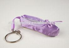 dancing shoe keychain