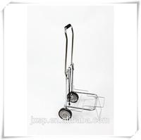 Hot sale used folding metal two-wheel luggage cart