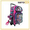Monster High roller school backpack girl kids trolley school bag