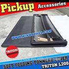 Soft Vinyl Folding Tonneau Cover For Mitsubishi Triton L200