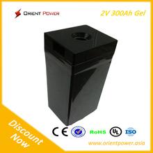 automotive battery factory Deep Cycle Battery 2v300Ah