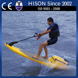 CE/EPA approved HISON factory direct sale fiberglass water bike