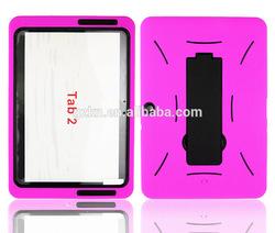 Heavy duty case for Samsung Galaxy tab 2 mobile accessory