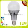 E27 plastic cover SMD led bulb 12W residential energy saving light bulbs
