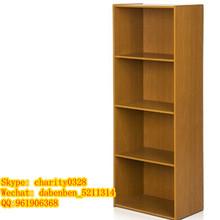 Particle board KD Design melamine colors bookcase/book shelf