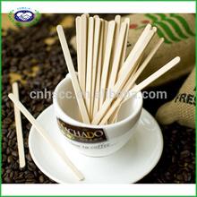 100% Birch wood high quality sugar sticks/coffee sticks HSCC-C-001