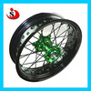 Hot Sale! Motorcycle CNC Hubs Alloy Rim Stainless Steel Spokes Wheels For Kawasaki KX 250/450
