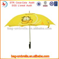 Fashionable Safety kids beautiful girls sex picture cartoon yellow umbrellas