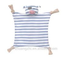Directo de fábrica de la venta del nuevo diseño de peluche de juguete orgánico manta de bebé