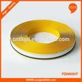 De haute qualité jaune extérieur en acrylique avec lettres de l'alphabet bobine d'aluminium en gros tlty- 3