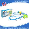 البطارية-- مشتغل ألعاب تركيب مجموعة قطار سكة القطار الكهربائي
