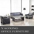 s806 el último diseño de oficina de cuero sofá conjunto