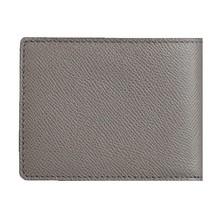 Cow split leather men casual wallet