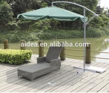 china factory oem outdoor rattan sun lounger