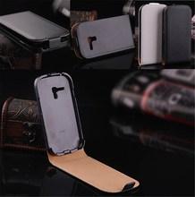 Fashion Flip Cover Mobile Phone Genuine Leather Case For Samsung Galaxy S 3 III mini i8190 RCD02401
