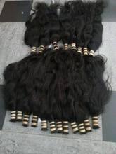 cabelo humano baratos de 1 kg bulk straight hair