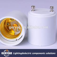 2 pin GU24 to E27 E26 lamp adapter socket