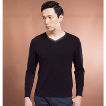 fashion design Men's V neck cashmere jumper