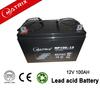 GEL battery 12v 100ah sealed lead acid deep cycle battery for solar