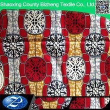 African super wax ankara prints Fabric with 100% Cotton fabric manufacturer