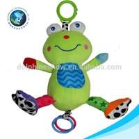 European safe standard baby toys frog