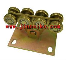 huit roues roue porte en porte à faux cantilever porte coulissante rouleau de roue