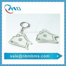 For Promotion EN13356 / EN71 Standard High Visibility Plastic Reflective Keychain