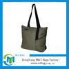 Fashion Zipper Nylon Foldable Tote Bag