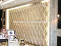 Designitalien waterjet beige, 3d pierre décorative pour les panneaux de mur