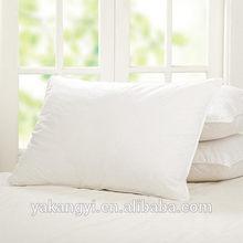 white plain fabric hotel pillows wholesales