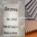 de secado rápido pegamento en polvo de almidón para la laminación