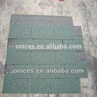 Light green asphalt roof tile