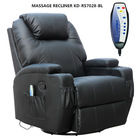 8 point vibration massage recliner/massage chair/massage cinema recliner/KD-MS7028-BL