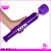 China Factory Wholesale White Black Purple USB Cordless Rechargeable Electric Magic Wand Massager