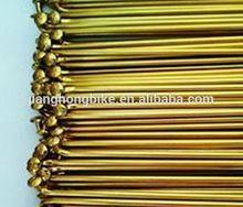 13g golden plated spoke nipple